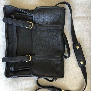 Genuine leather men's or women's shoulder bag 💼